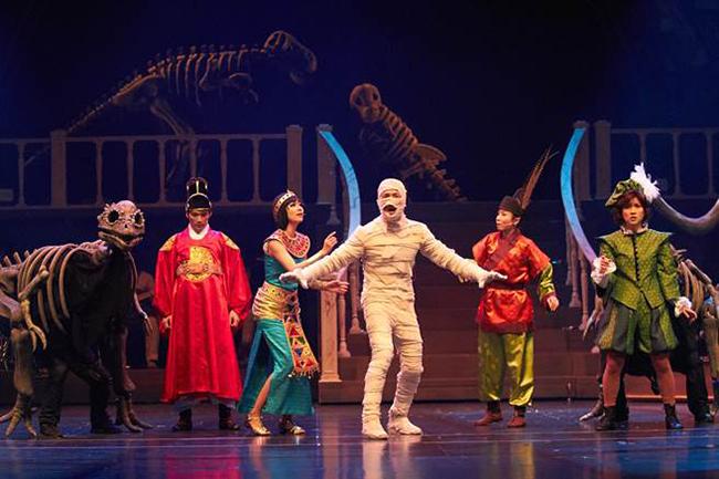 恐龍熱潮延燒 韓恐龍音樂劇來台講中文