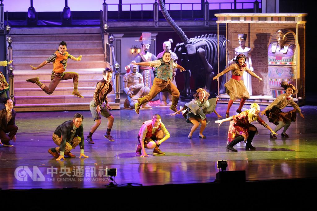 恐龍復活了中文版 台灣新加坡同步巡演