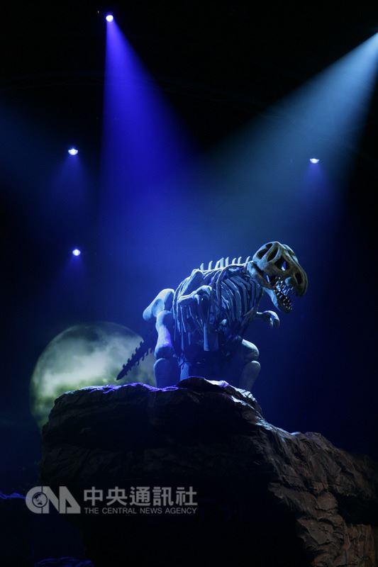 台韓共製音樂劇 2.5公尺恐龍化石復活