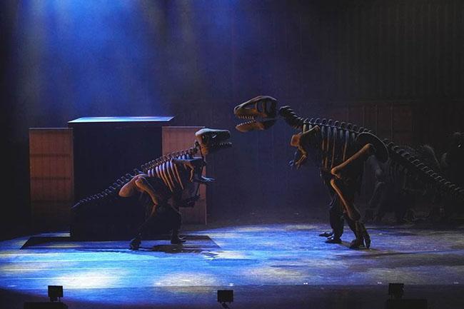 如臨電影現場 音樂劇《恐龍復活了》玩味全年級味蕾!
